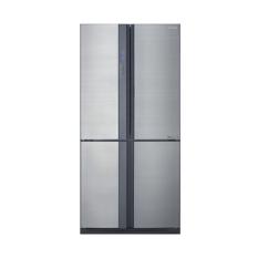 Sharp - Refrigerator 4Door 695Lt Silver