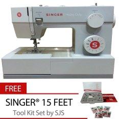 Singer 4411 Heavy Duty Mesin Jahit Portable + Bonus SJS 15 Feet Tool Kit