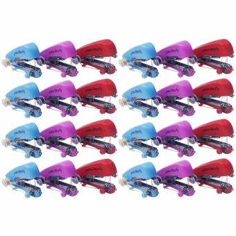 Yangma Paket 24 Buah Mesin Jahit Mini Handheld Sewing Machine (Multicolor)