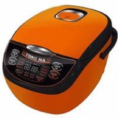 Yong Ma Magic Com, Rice Cooker, Magic Jar, Penanak Nasi 2 Liter Digital Eco Ceramic YMC116C (Garansi Resmi Yong Ma) - Orange