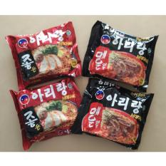 Arirang Mi Instan (4 Packs) Korea Style MIX 2 100% HALAL Indonesia.MUI