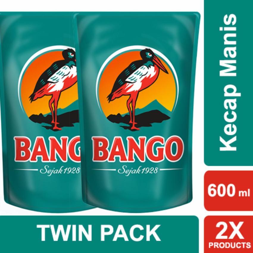 Bango Kecap Manis 600ml Twin Pack