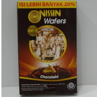 Oreo Biskuit Krim Double Delight 137 gr. Source · Harga Terbaru Nissin Wafers Chocolate /
