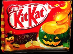 Kitkat Pumpkin Pudding