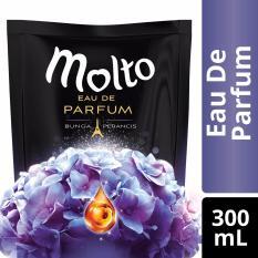 Molto Pelembut Dan Pewangi Pakaian Eau De Parfum Elegant Purple 300ml