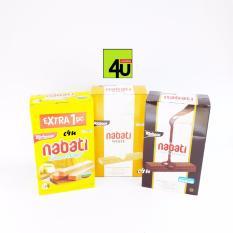 Nabati Wafer - Keju, Coklat, Vanila - Paket 3 kotak