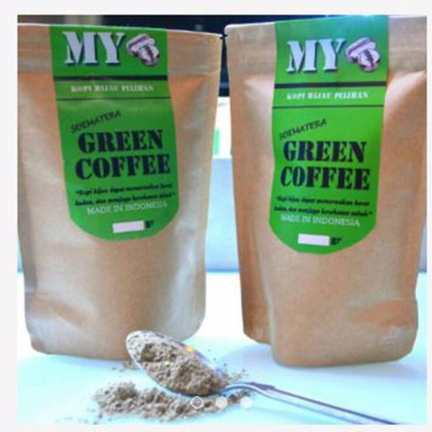OVJ My Green Coffe Powder / Bubuk Kopi Hijau/ Kopi Diet Alami KayaAntioksidan 200gr