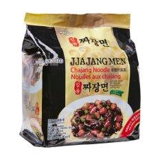 Paldo Jjajang Men Mie Korea Jjajangmyeon Instan Paket Isi 4