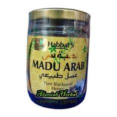 Pure  Black Seed Honey-  Madu Arab Habbat'S - 250gr
