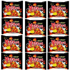 SAMYANG HOT CHICKEN RAMEN SPICY 140 gr @ 12 Bungkus Korea Murah