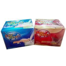 Skygoat Susu Bubuk Plus Propolis Rasa Coklat - 1 Box Isi 10 Sachet