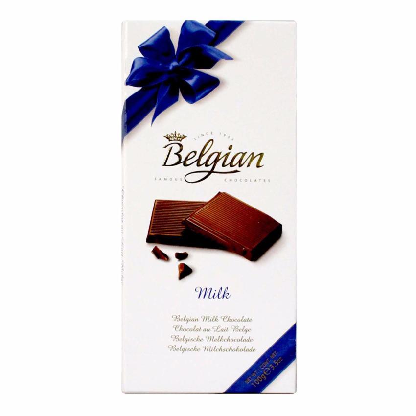 StarStore The Belgian Milk Chocolate Coklat Susu Belgian 100g