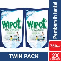 Wipol Ultra Protection Pembersih Lantai 750ml Twin Pack