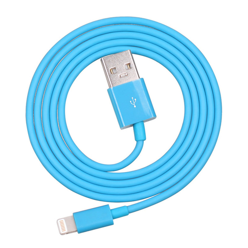 1M FMFi USB Male to Lightning 8-Pin Male Data Charging Cable for iPhone 5/5S/5C (Blue) (Intl)