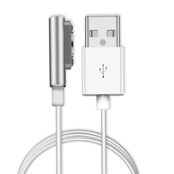 1m Magnetic Charging Charger Cable LED for Sony Xperia Z3 L55t Z2 Z1 Compact XL39h Silver (Intl)