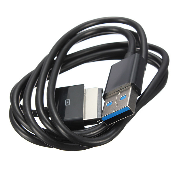 1M USB 3.0 Data Sync Charge Cable Cord for Asus Eee Pad TransFormer TF101 TF201 (Black) (Intl)
