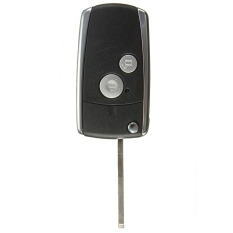 1Pc 2 Button Remote Flip Key Shell for Honda Civic CRV Jazz Accord Odyssey S2000 (Intl)