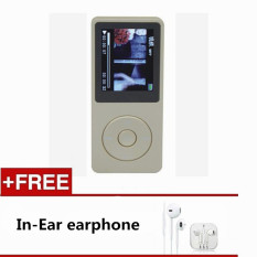 1.8 Inch 8GB MP3 MP4 Music Player, FM Recorder E-book MP3 Or WAV / WMA / TF Card (Gold) - Intl