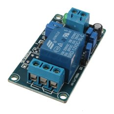 12V Power-ON Open Type Delay Timer Relay Module Delay Circuit Module