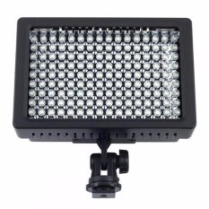 160 LED Video Light for Camera DV Camcorder Canon Nikon Sony Lightning Kamera HD-160 Lighting Lampu Pencahayaan Penarangan Aksesoris Kamera Aksi Perlengkapan Studio Foto Equipment Fotografi Photograph Lamp - Black