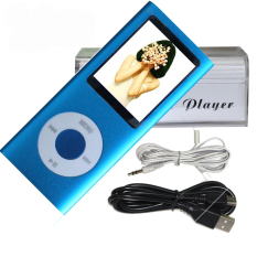 "16GB Ultra Slim Generation 1.8"" Sreen Nano-style MP3 / MP4 (Blue) (Intl)"