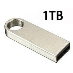 1TB Keychain U-Disk USB 2.0 Metal Flash Drive Memory Stick Pen