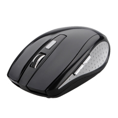 2.4GHz High Qulity Wireless RF Optical Mouse And USB 2.0 Receiver For PC Laptop Black