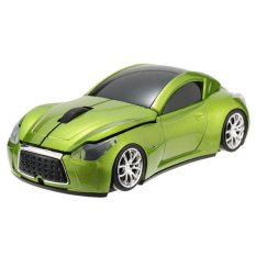 2.4GHz Wireless Racing Car Shaped Optical USB Mouse / Mice 3.3 Buttons 1000 DPI / CPI For PC Laptop Desktop