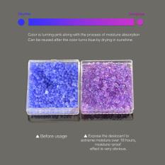 2 buah silika gel pengering kelembaban menyerap ruangan Mouldproof