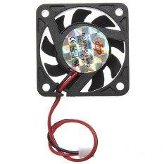 2-Pins 40x40x10mm 12V Heatsink Cooler CPU Cooling Fan PC Computer (Intl)