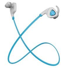 2015 NEWEST Bluedio Q5 Fone De Ouvido Wireless Bluetooth 4.1 Earphone Stereo Sport Sweatproof Headset Anti-sweat Headphone (Blue) (Intl)