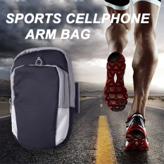 2016 Best Quality Running Arm Bag Jogging GYM Adjustable Waterproof Arm Band Cover Wallet Sport Riding Cycling Bags For Apple IPhone6/6.4.7 Inch Medium (Black)