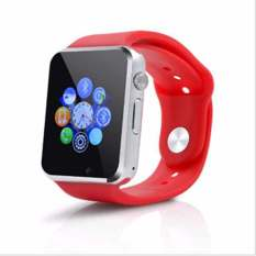 2016 Smart Watches SIM / TF Bluetooth Sport Pedometer WristWatch A1G08 Smartwatch For Android Phone(red)