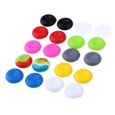 20pcs Rubber Silicone Capskid Controller Cap For PS4 - Intl