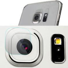 2sets/4pcs 9H Tempered Glass Film Clear Back Camera Lens Flash Protector Guard Cover for