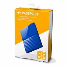 2TB Black USB 3.0 My Passport Portable External Hard Drive (WDBYFT0020BBK-WESN) - intl