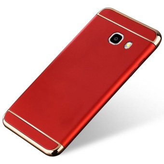 3 In 1 Ultra Thin And Slim Hard Case Coated Non Slip Matte Surface With Electroplate