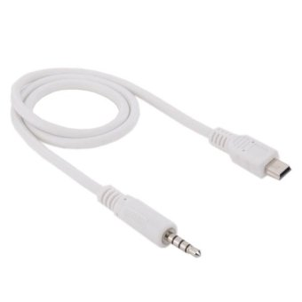 3.5mm Male To Mini USB Male Audio AUX Cable, Length: About 50cm -intl