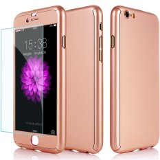 360 Full Body Coverage Protection Hard Slim Ultra-thin Hybrid iPhone 6 Case Cover &