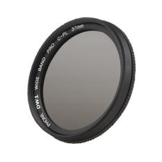 37mm CPL Filter Circular Polarizer Lens Filter With Cip For IPhone 6/6s / 7 (Black) - Intl