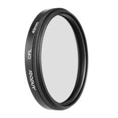 49 mm Digital langsing Kopral Polarizer polarisasi melingkar menggunakan filter kaca untuk Canon Nikon Sony DSLR