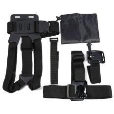 5-in-1 Action Camera Accessories Kit Chest strap / Head strap/Wrist strap / WiFi remote wrist strap / Storage bag (Intl)