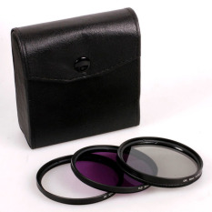 58MM UV CPL FLD Filter Kit For Canon EOS 500.550D / Rebel T3i T2iT1i SLR - Intl