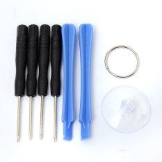 7 In 1 Torx T3 T4 T5 T6 Repair Tools Opening Screwdriver Set Kit For Blackberry - intl
