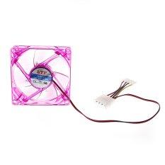 8 Centimetre CPU Cooler Fan Purple (Intl)