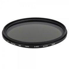 82mm Adjustable ND Camera Lens Filter