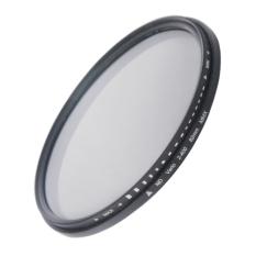 82mm ND Fader Neutral Density Adjustable Variable Filter ND 2 To ND 400 Filter (Intl)