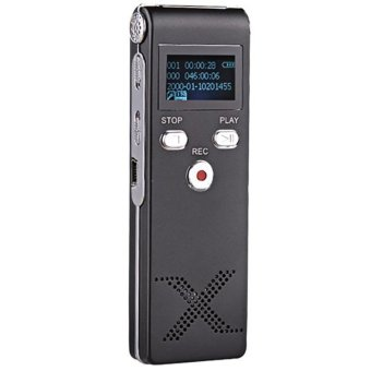 8GB Multi-functional Digital Audio Voice Recorder Dictaphone USB MP3 Player