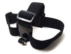 Adjustable Camera Elastic Head Belt Strap Headband Mount For Gopro HD Hero 2 3 Black (Intl)