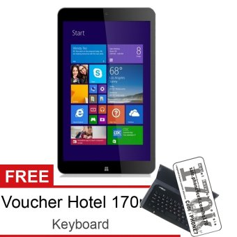 Advan Vanbook W80 -16GB – Hitam + Gratis Keyboard & Voucher Hotel 170rb
